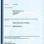 Certyfikat GL - DIN EN ISO 3834-2-page-001